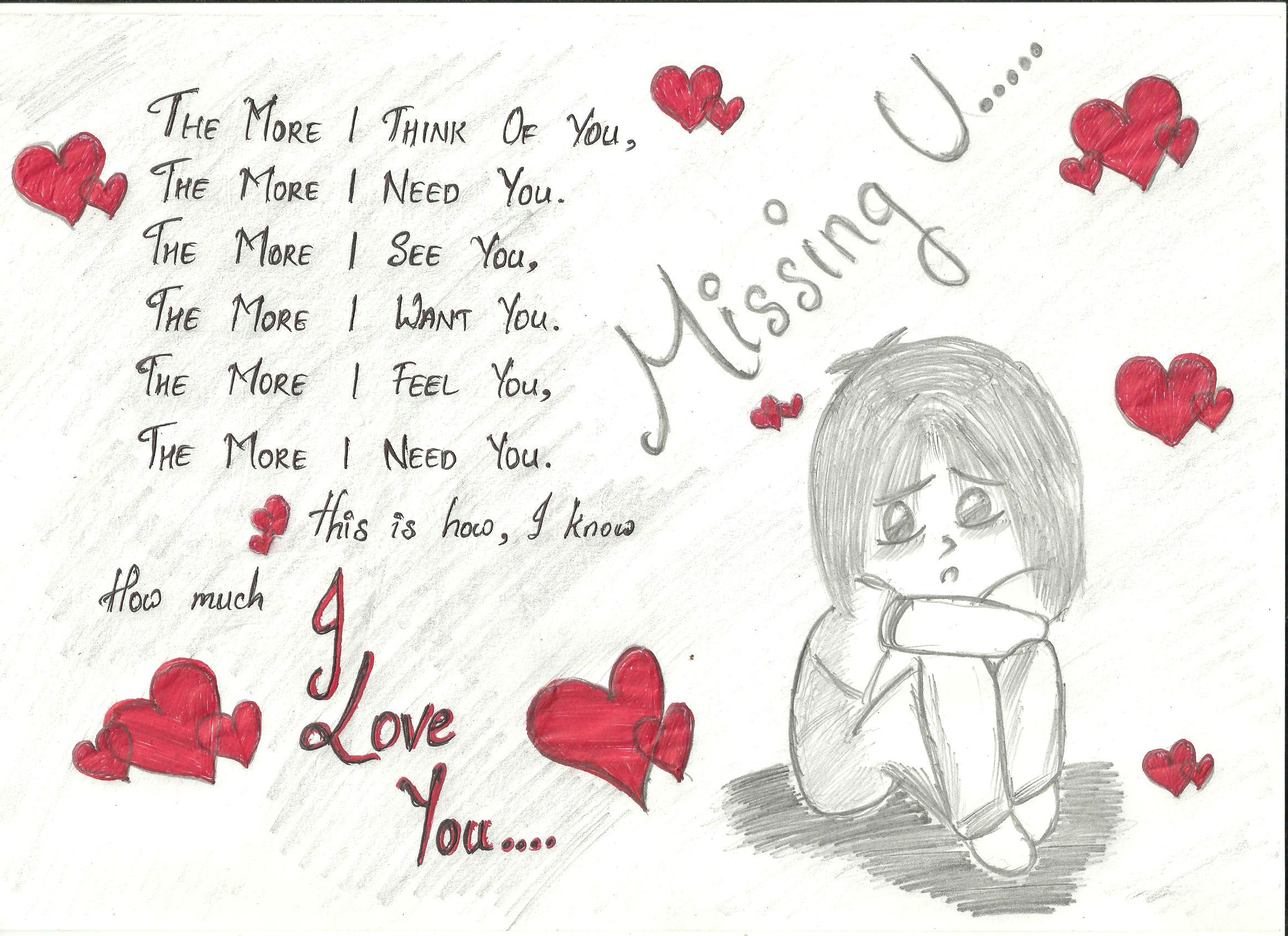 I Love U Jyoti Wallpaper : i miss you