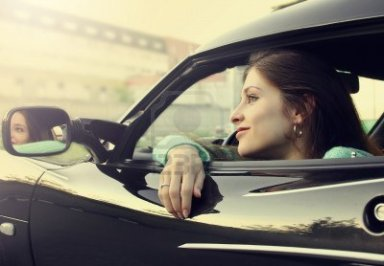 14019853-beautiful-smiling-girl-sitting-in-new-sport-car-and-looking-from-window
