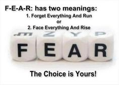meaning of fear